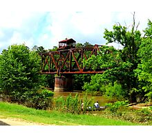bridge in color Photographic Print
