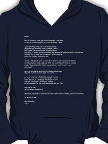 Jodi Letter in White Lettering T-Shirt