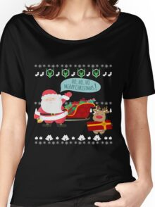 Ugly Christmas- Santa Ugly christmas sweat 1b Women's Relaxed Fit T-Shirt