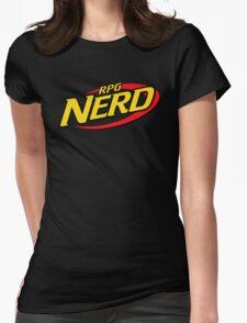 RPG Nerd Womens Fitted T-Shirt