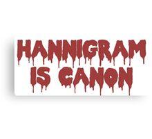 HANNIGRAM CANON Canvas Print