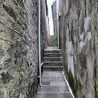 Alleys of Lerwick (1) by Larry Davis