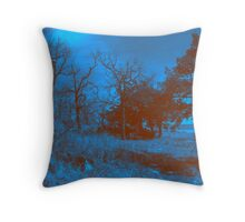 Midnight Illusion Throw Pillow