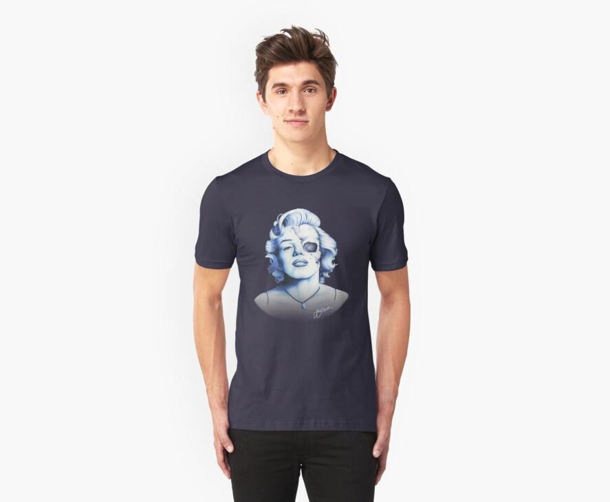Marilyn Monroe - Live Fast by Jeff Arnolds  Art