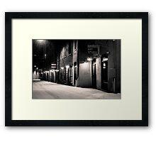 Art Studio, Bogart Court Framed Print
