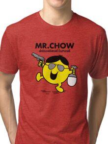 Mr. Chow Tri-blend T-Shirt