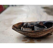 Burning Resin Photographic Print