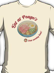 Eat at Ponyo's - We have HAM! T-Shirt