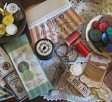 Sewing ephemera by TrudiSkene