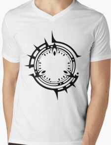 Jibril's Halo - Black Mens V-Neck T-Shirt
