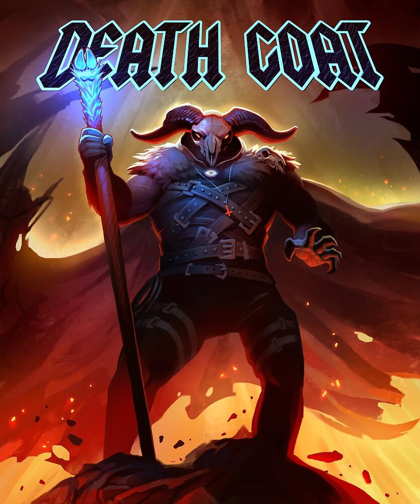 DEATH GOAT Cursed to Die by Brian Ferrara