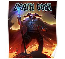 DEATH GOAT Cursed to Die Poster