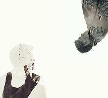 Dean and Cas in double exposure by deduced