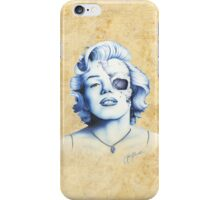 Marilyn Monroe - Live Fast iPhone Case/Skin