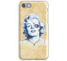 Marilyn Monroe - Live Fast iPhone Case/Skin