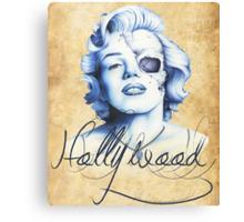 Marilyn Monroe - Live Fast Canvas Print