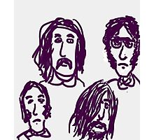 CSNY Crosby, Stills, Nash & Young DRAWING DAY  Photographic Print
