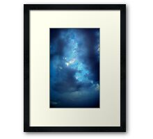 ©HCS Vertical In Blue Framed Print