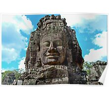 Smiling Buddha - Cambodia Poster