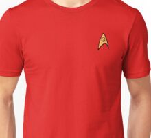 Star Trek Engineering Officer Badge Unisex T-Shirt