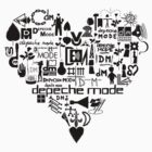 Depeche Mode : I Love DM - Black by Luc Lambert