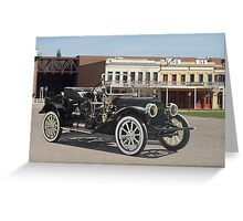 1911 Cadillac 'Gentlemans Roadster' Greeting Card