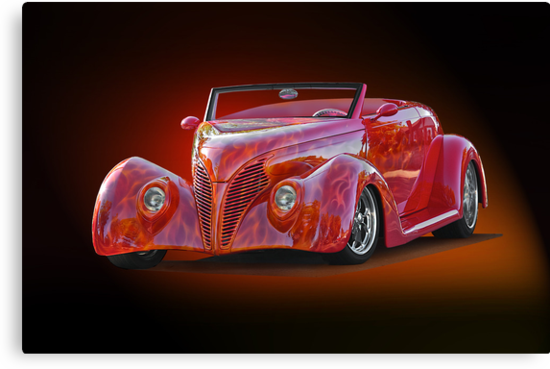 1938 Ford Cabriolet ... A sizzling affair ! by DaveKoontz