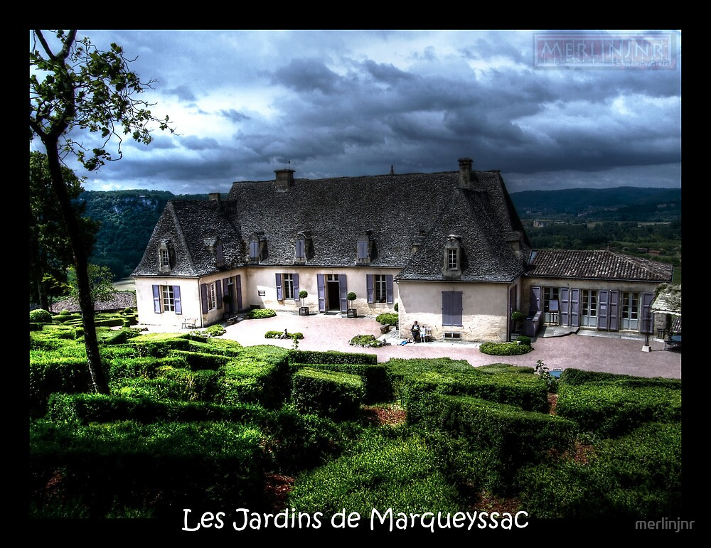 jardins de marqueyssac dordogne by merlinjnr redbubble. Black Bedroom Furniture Sets. Home Design Ideas