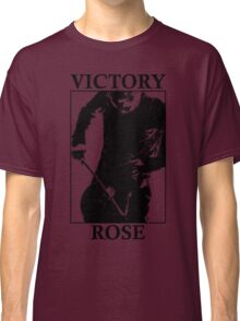 Victory Rose in Black Classic T-Shirt