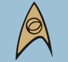 Star Trek Science Officer Badge by ZergKnight