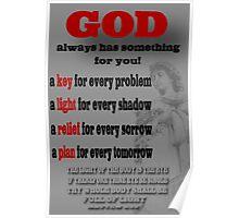 ✌☮ SOMETHING FOR U (BIBLICAL) Poster