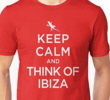 Keep Calm And Think Of Ibiza 3 Unisex T-Shirt
