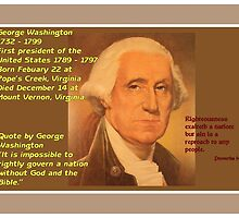 George Washington - 1732 to 1799 by aprilann