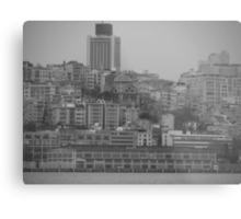 Buildings in Karaköy. Metal Print