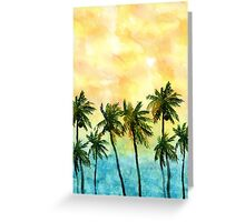 Paradise Impressions Greeting Card