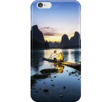 the king fisherman iPhone Case/Skin