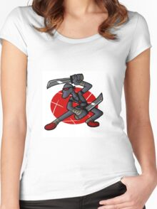 LankyNinja Women's Fitted Scoop T-Shirt