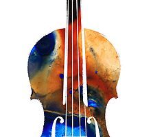 Violin Art by Sharon Cummings by Sharon Cummings