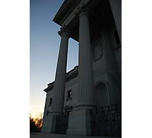 Columns at sunset  Photographic Print