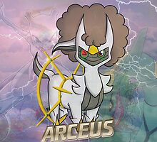 Arceus Case ft. Rayquaza and Mewtwo by OminousAcid95