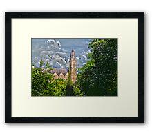 A church Framed Print