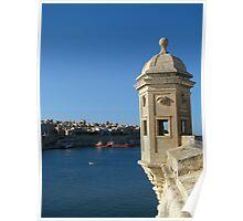 Senglea's Watch Tower Poster