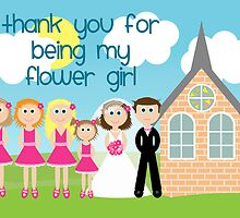 Thank You For Being My Flower Girl by Emma Holmes