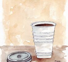 That cup of Java by Maree  Clarkson