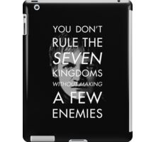 The Antisocial King iPad Case/Skin