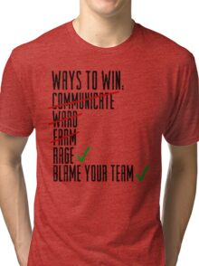 Ways To Win Tri-blend T-Shirt