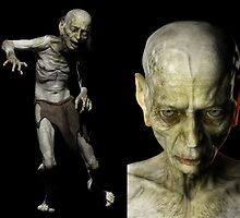 Digital Model Gollum 3 by Paul Mellender