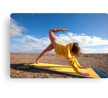 Yogini Yoga Canvas Print