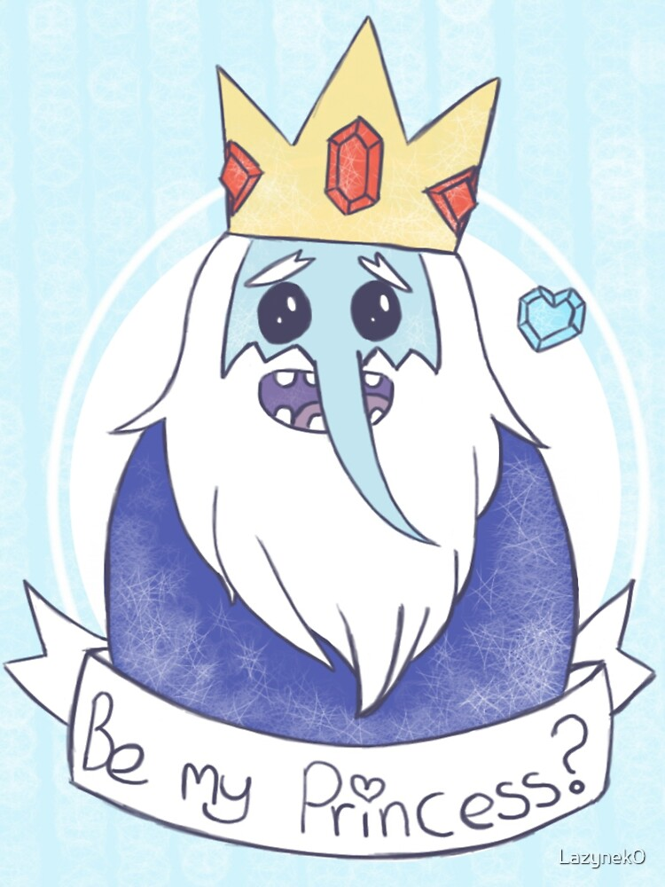The Ice King is searching for his Princess by Dawn Wilson