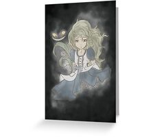 What's wrong Alice? Greeting Card